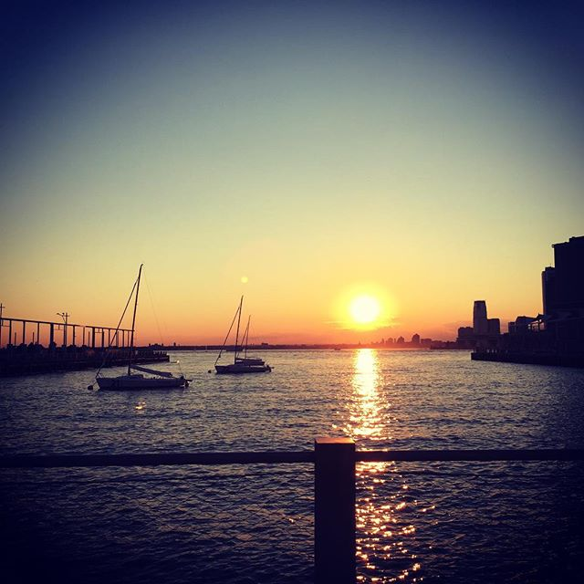 #summertime #sailboats by #brooklynbridgepark #latergram