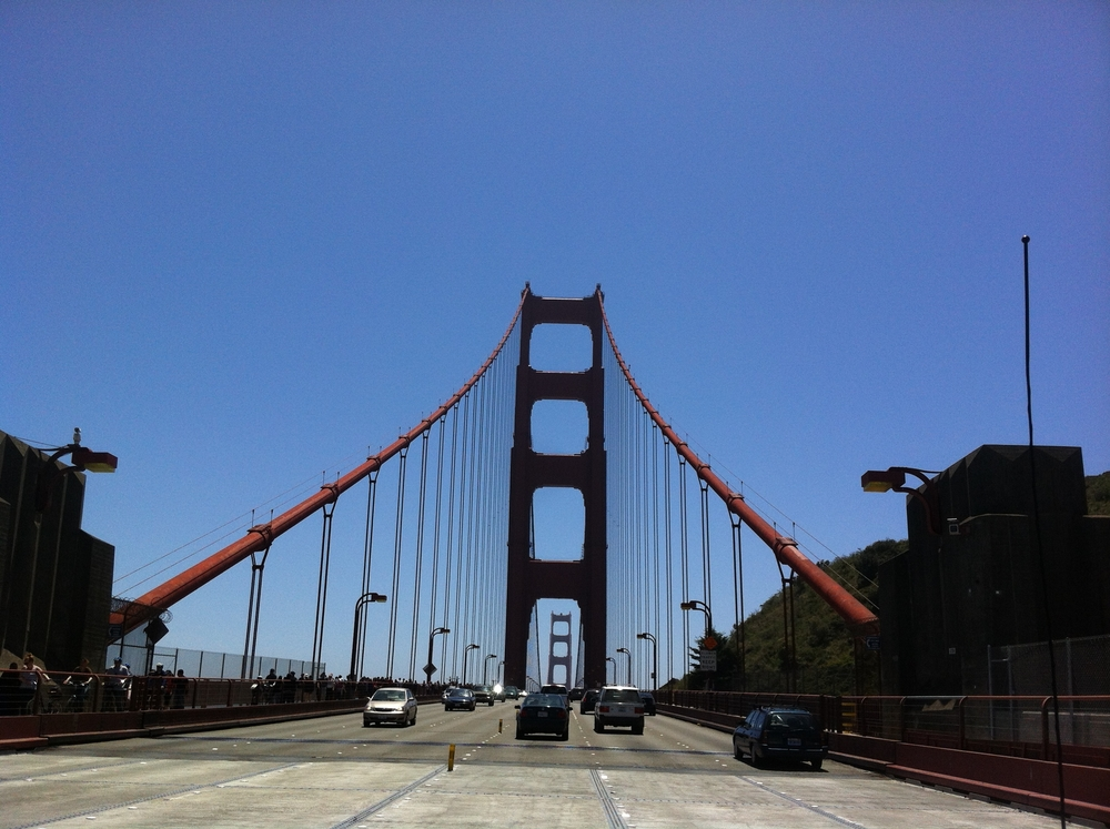 Golden Gate Bridge Drive w Marc P.