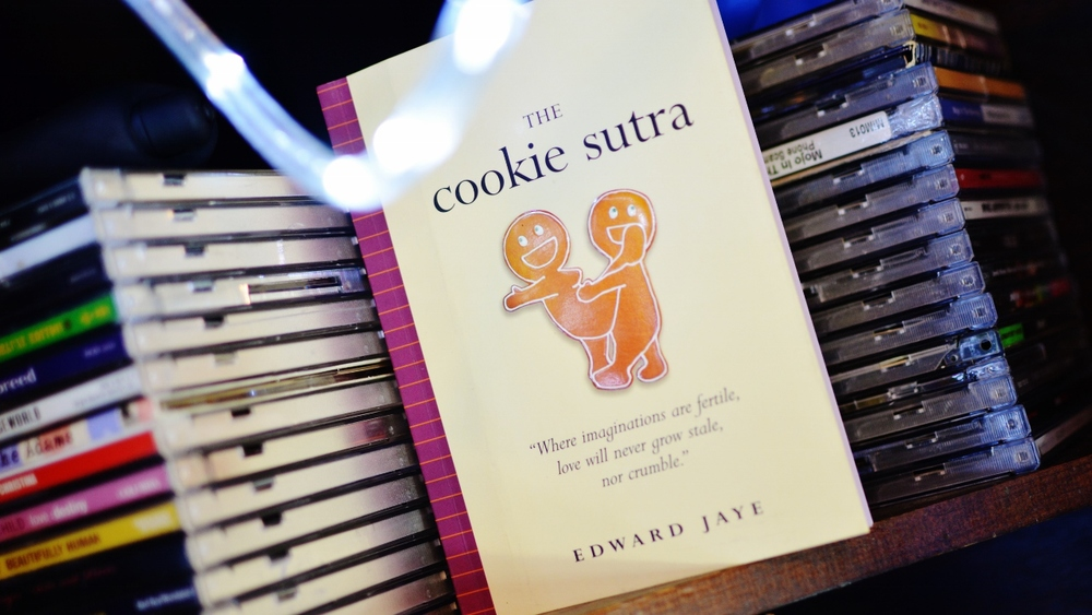The Cookie Sutra by Edward Jaye is filled with sweet, creamy comedy and a bit of charm. Together, it's a great recipe for a fun time.