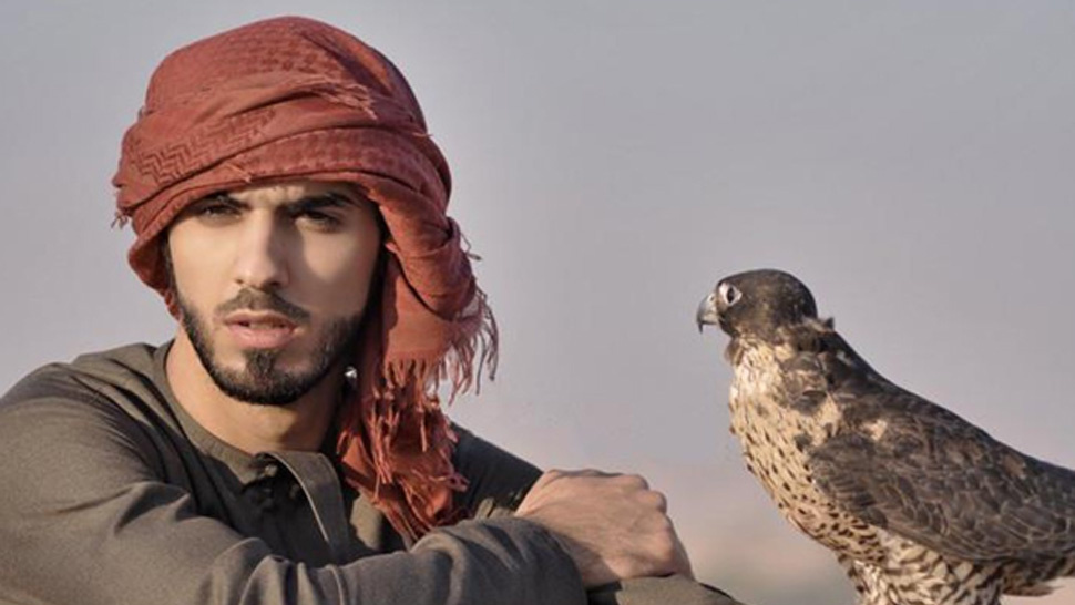 Omar Borkan Al Gala is so sexy he got deported from Saudi Arabia.