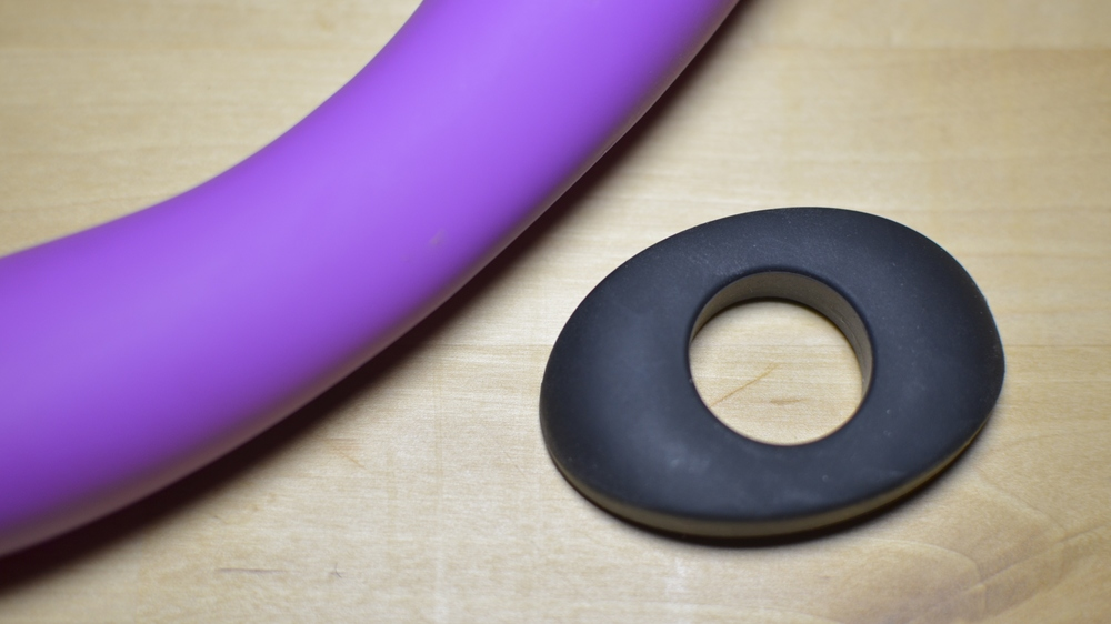 The Vibrator Enhancer by Evolved Novelties is one accessory that's actually worth it.