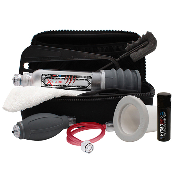 Bathmate Hydromax X30 Extreme comes with a ton of accessories