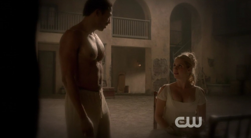 Charles Michael Davis shirtless the originals