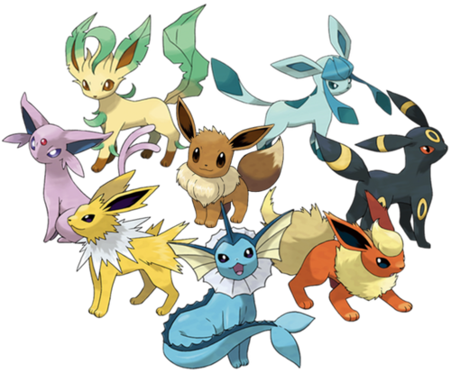 Just like Eevee ( Eievui ), defensiveness comes in many forms. They just aren't nearly as cute.