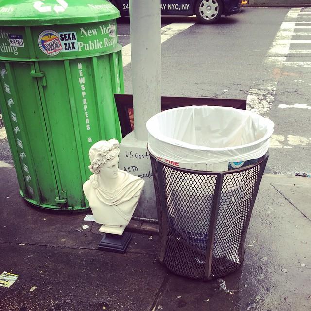 Trash day on the #UpperWestSide