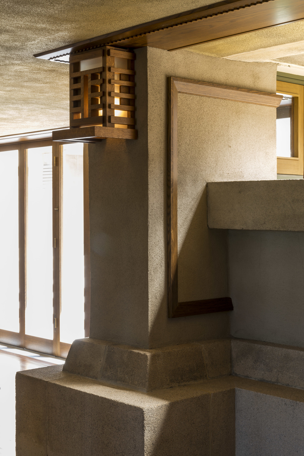 Frank Lloyd Wright's Hollyhock House (interior detail) Photo: Joshua White