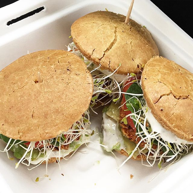 Wasn't even hungry but just devoured these white bean sliders with GF sweet potato buns. So good!!!! #vegan #Vancouver #whatveganseat #ilovesliders #healthy #healthyvegan