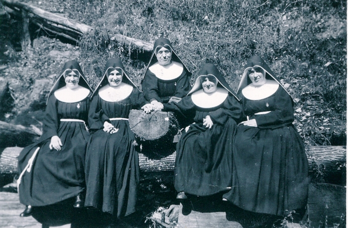 What do you call a group of nuns? According to the Oxford Dictionary, they are a Superfluity.