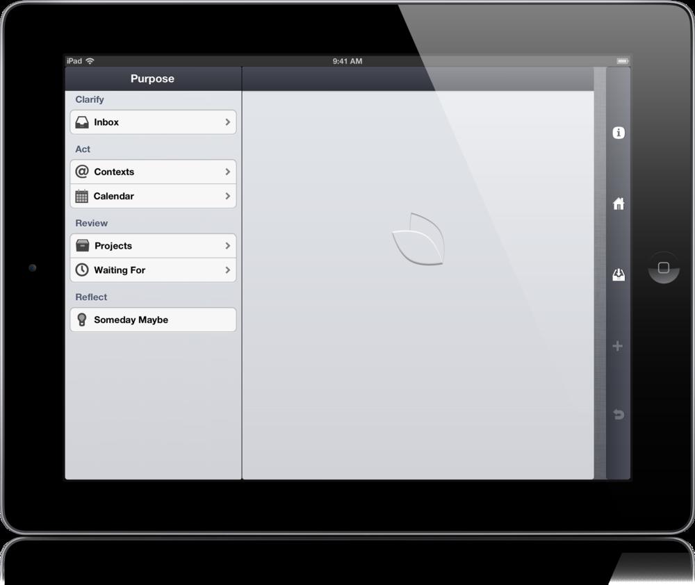 Purpose for iPad