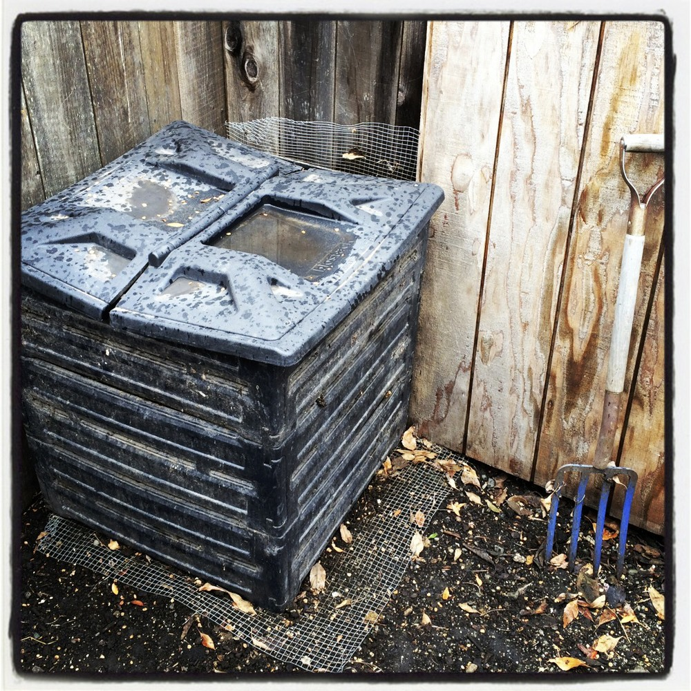 Pirate Produce onsite compost bin