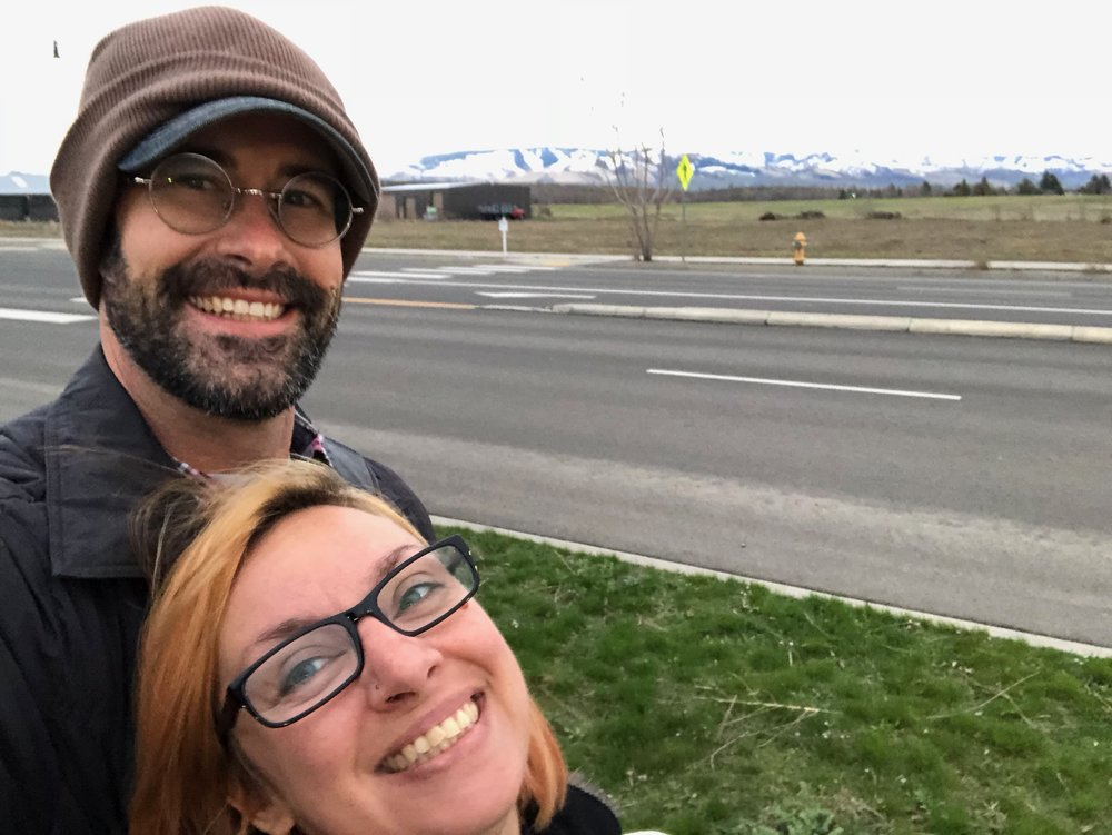 Jennifer and I return to Walla Walla to choose a house.