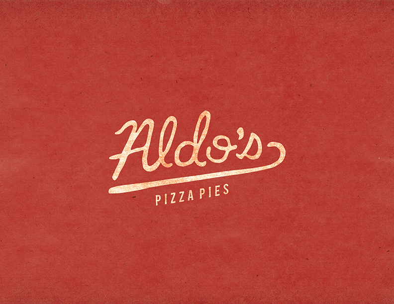 Aldo's Pizza Pies Logo