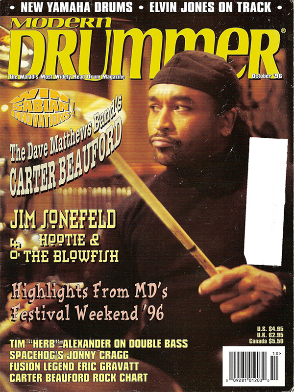 Modern Drummer - October 1996