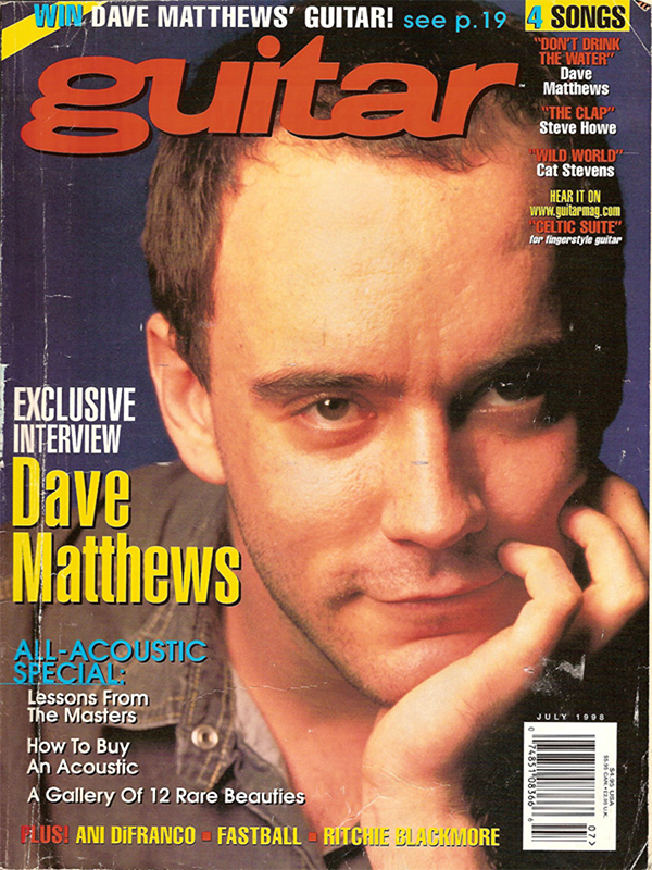Guitar - July 1998
