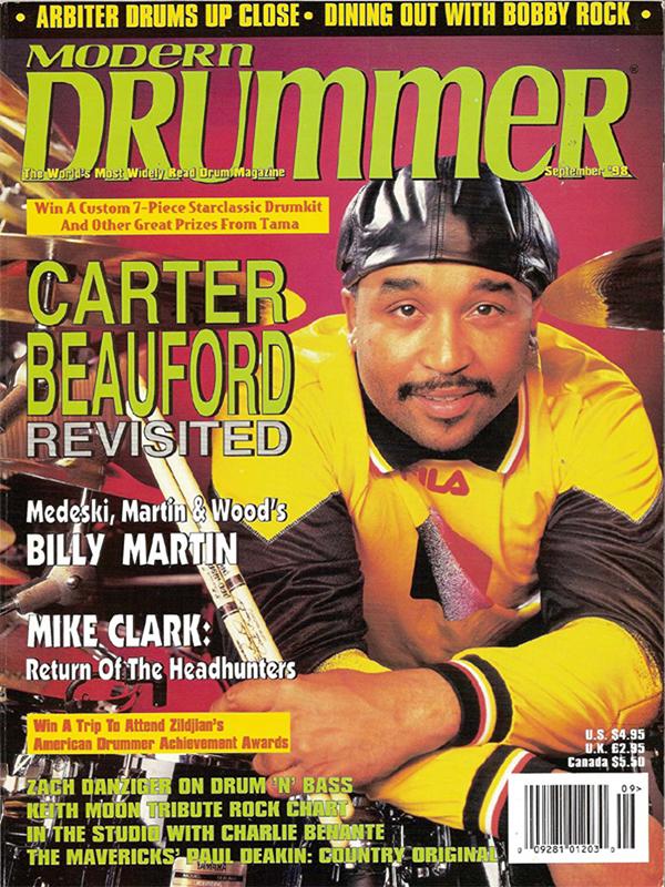 Modern Drummer - September 1998