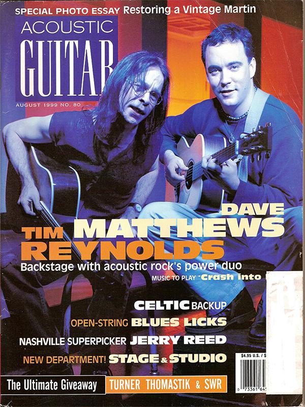 Acoustic Guitar - August 1999