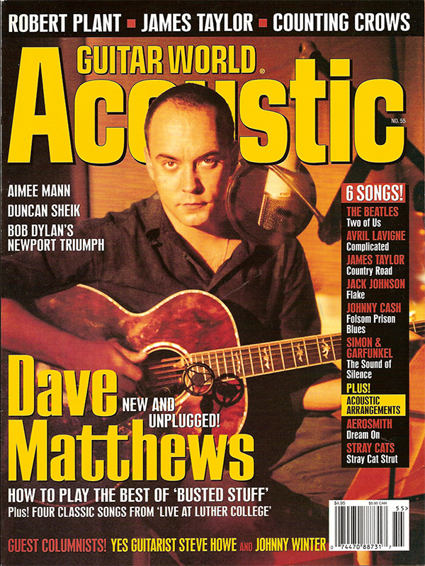 Guitar World: Acoustic - 2002 (No. 55)