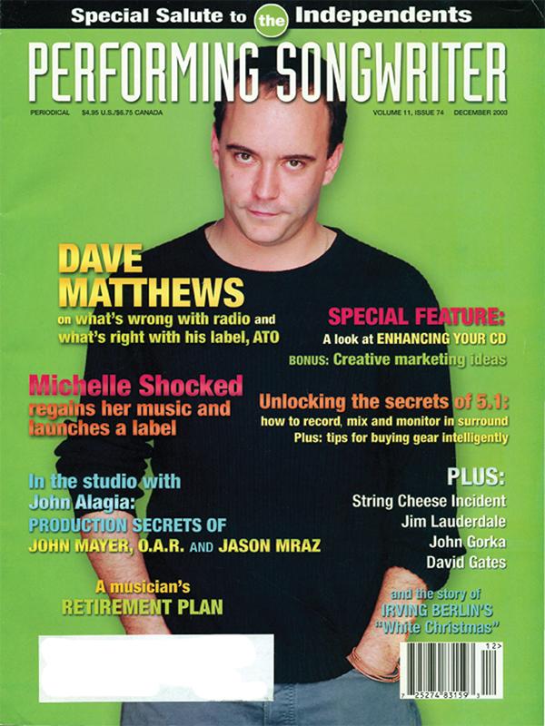 Performing Songwriter - September 2003
