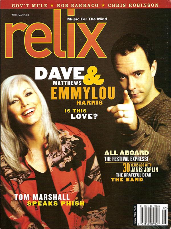 Relix - April/May 2004