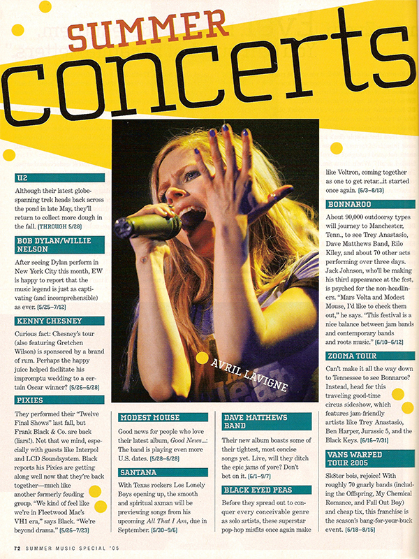 Entertaiment Weekly - May 27th, 2005 (Issue 821/822)