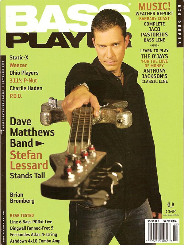 Bass Player - September 2005
