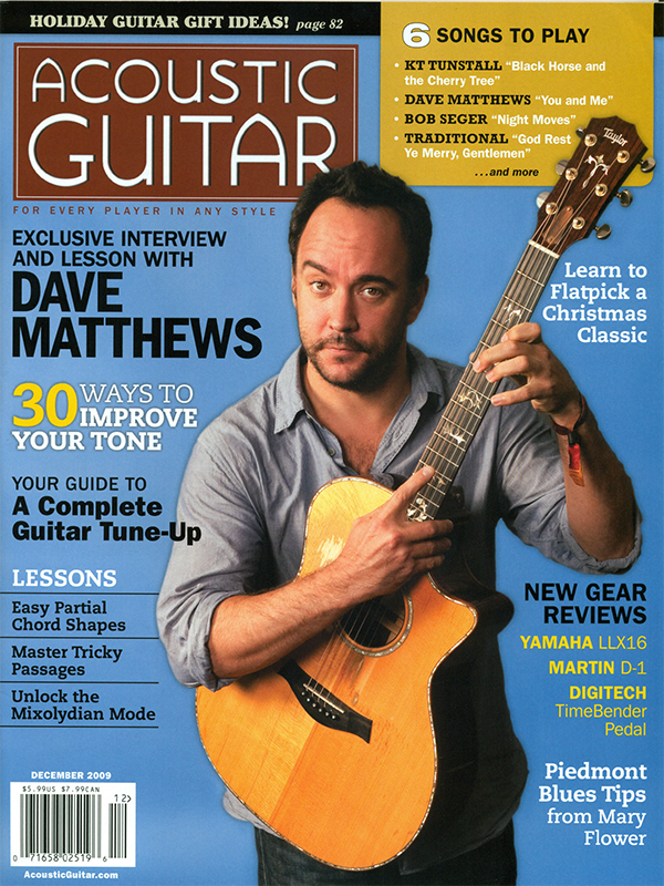 Acoustic Guitar - December 2009