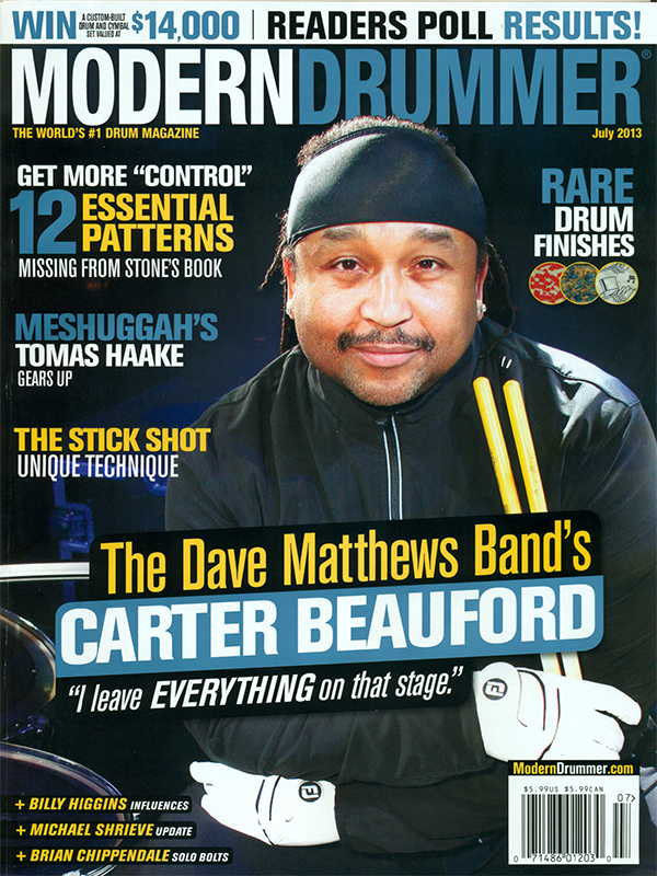 Modern Drummer - July 2013