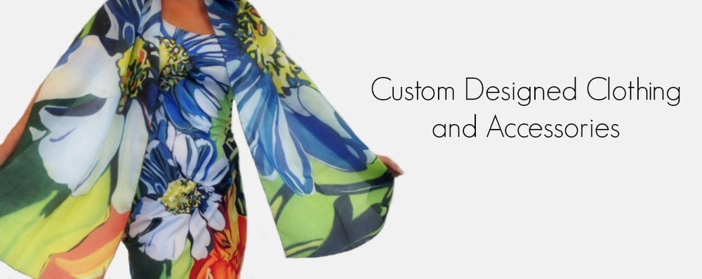 Custom Designed Clothing and Accessories