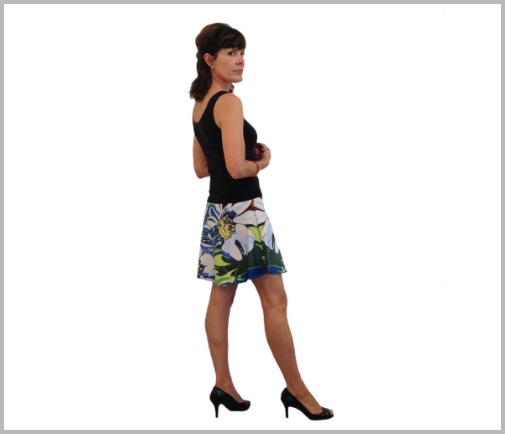 Daisy Flare Skirt