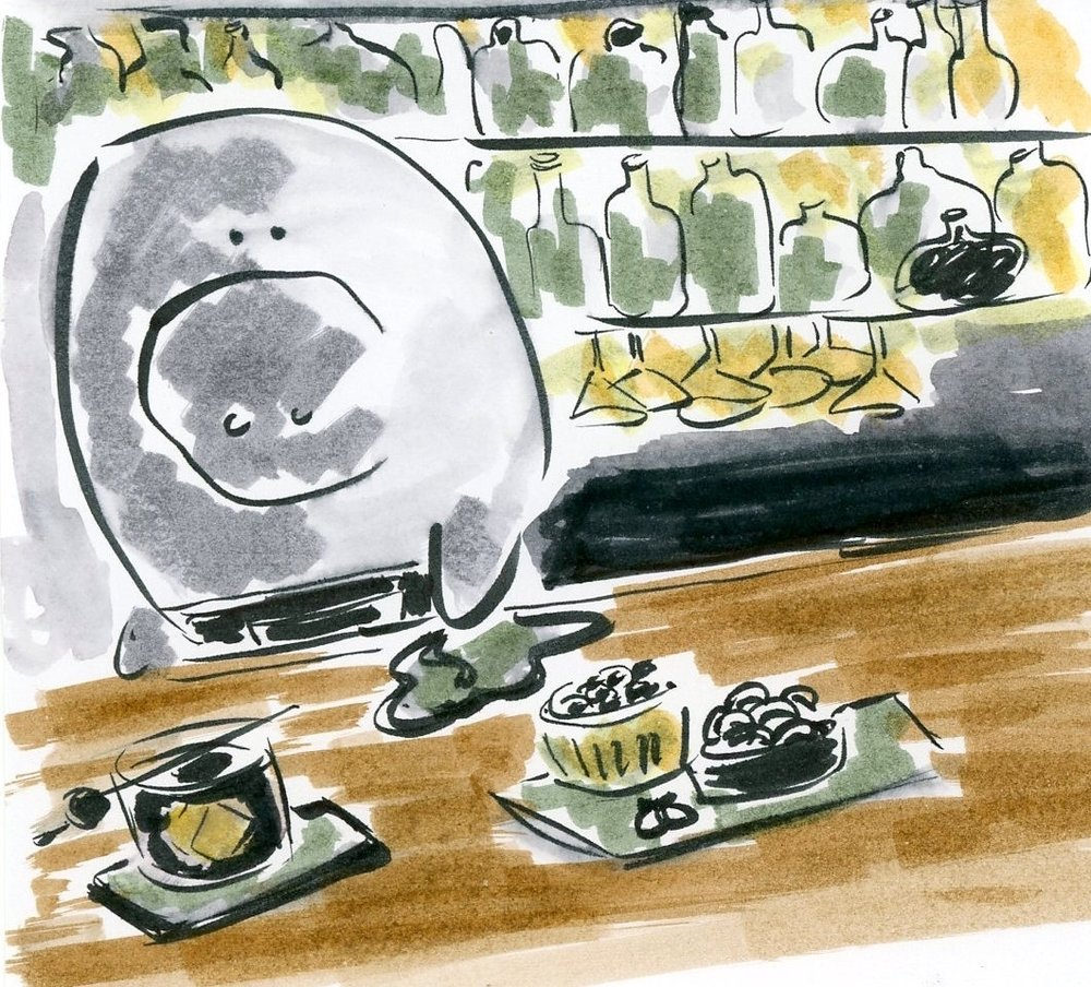 The rare but useful bartender manatee