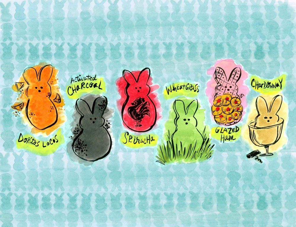 10 Future Peeps Flavors that are Totally Real ,  BonAppétit.com