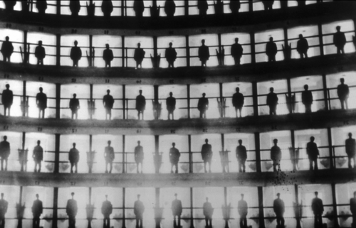 I just discovered the  Burns Archive of photos at the Newsweek site . It is a real treasure trove of pictures, such as this striking image of prisoners in a panopticon prison in Cuba in 1926.