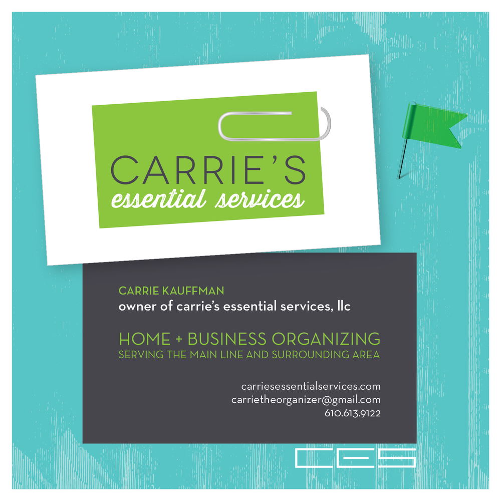 Branding for Carrries Essential Services