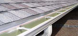 Typical Gutter on a Traditional Sloping Roof