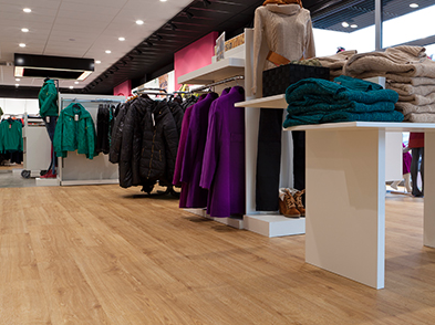Vinyl Planks (LVT) Podium Pro 55 - Valley Oak Natural