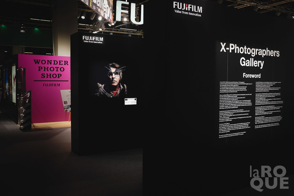 One of my images in the X-Photographers Gallery. The prints were big, bold and damn impressive.