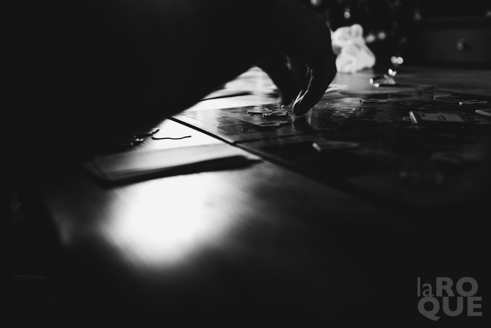 Board game. December 2014.