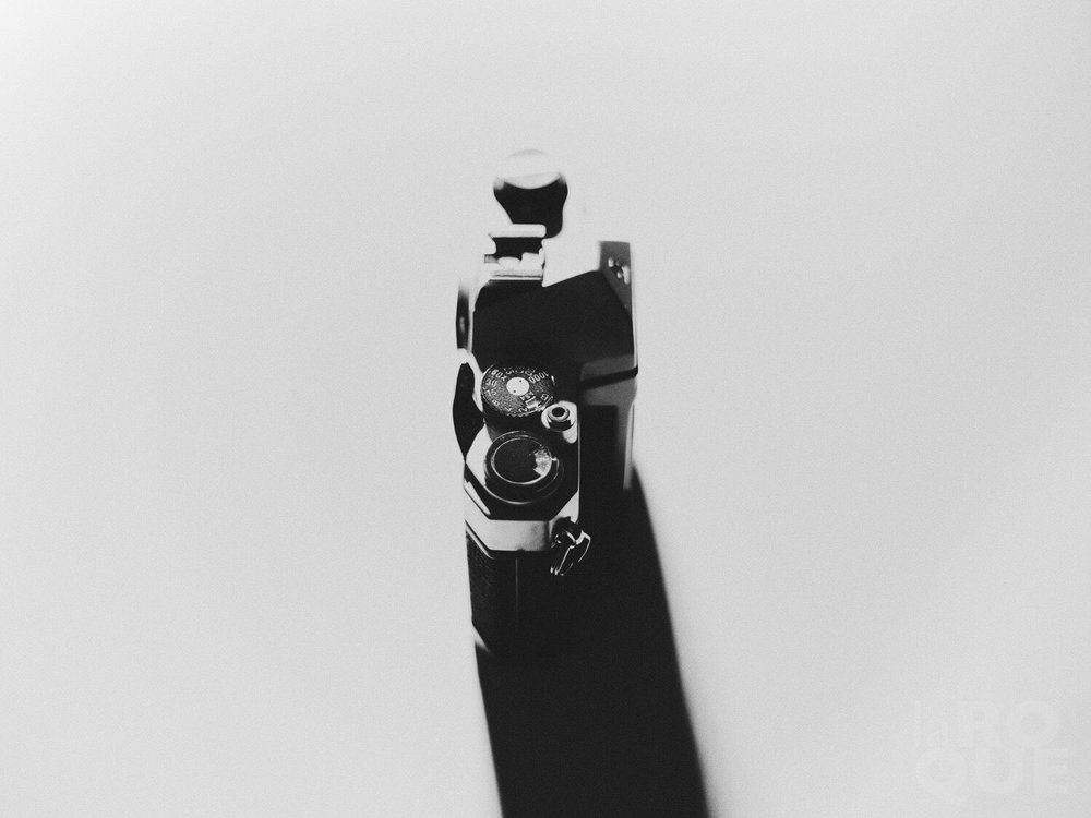 The K1000 shot with its own lens.
