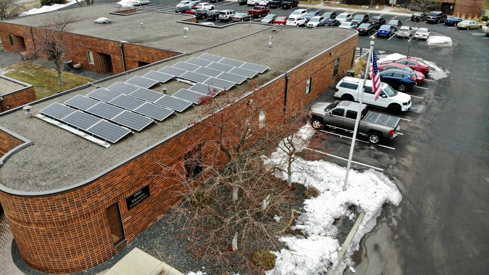 We've Gone Solar! - Currently producing enough power for our office and Job site requirements.