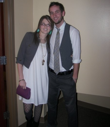The night we officially started dating, it was at a Chi Alpha event non the less.