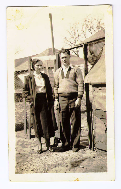 My grandparents not sure of date but looks around the time of the Great Depression.