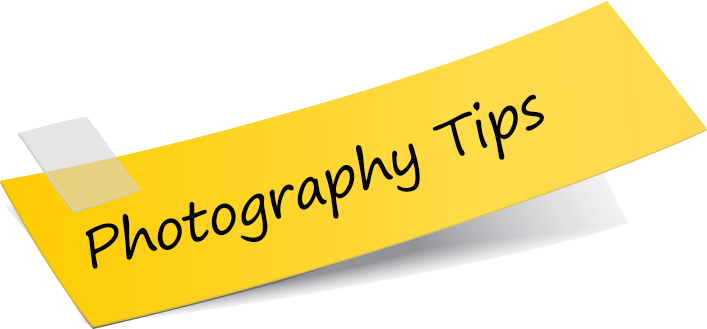 Show my photography tips.