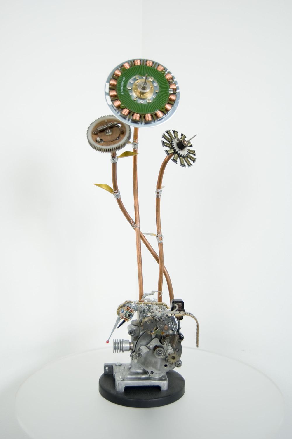 Three Flower Engine - Status Sold