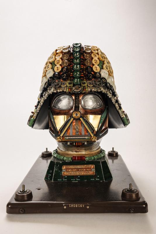Darth Vader Upcycled #2