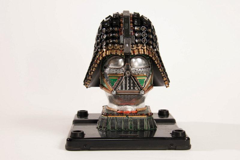 Upcycled Darth Vader #1