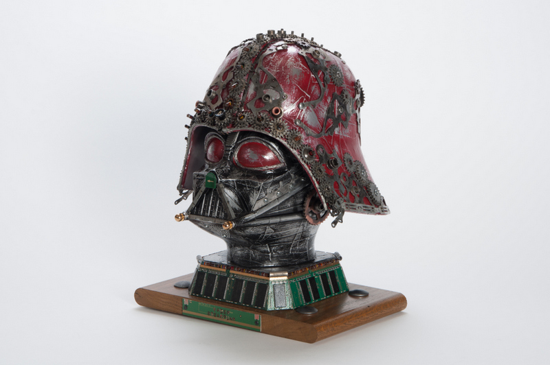 Artist Renders Amazing Upcycled Star Wars Series