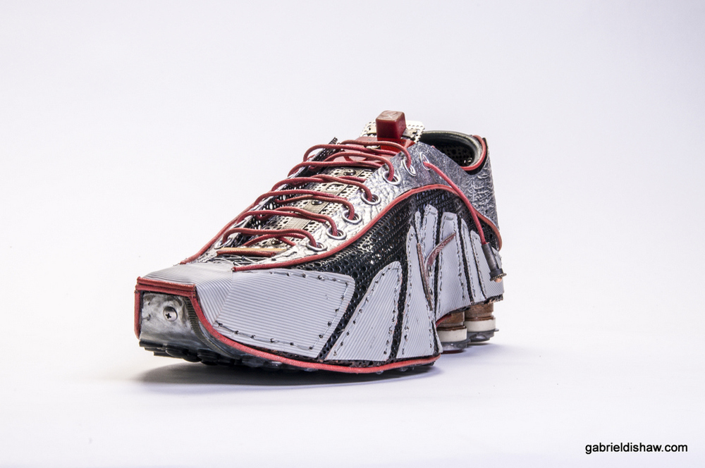 Nike Shox R4 (Upcycled) Status: Sold