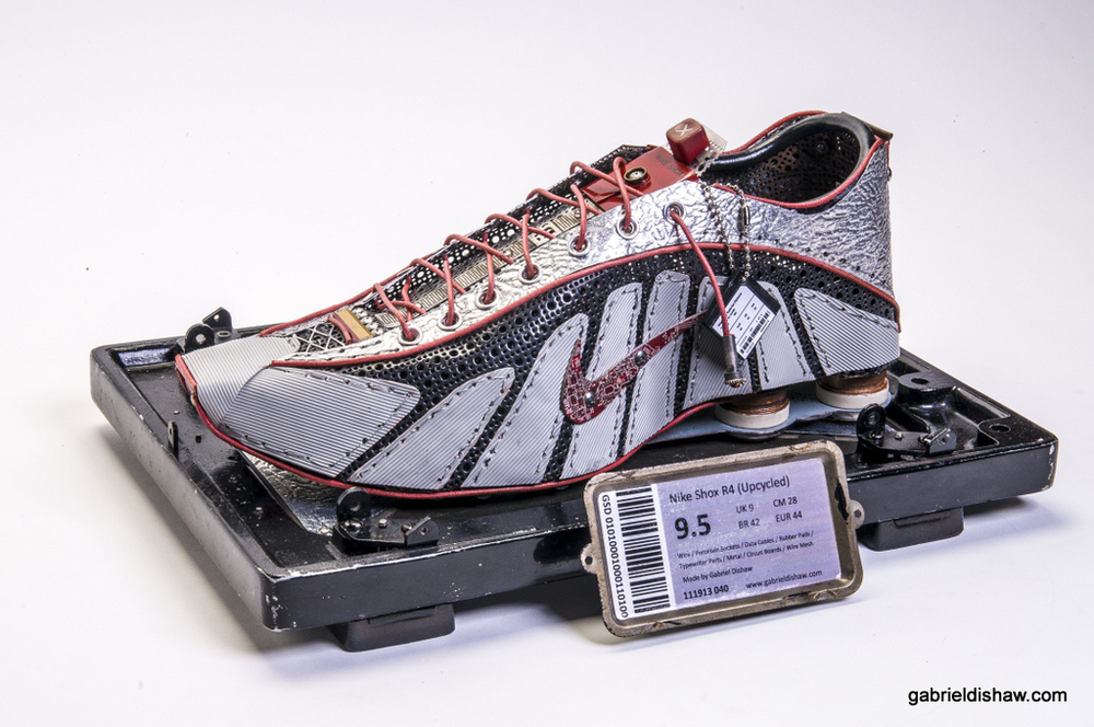 Nike Shox R4 Upcycled