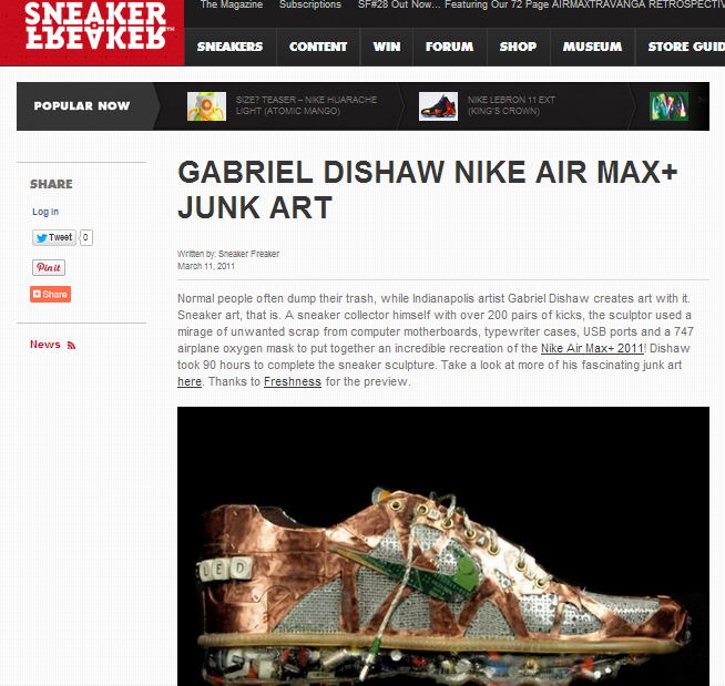 Featured: Sneakerfreaker.com