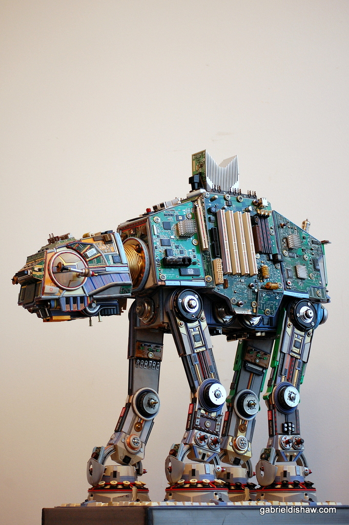 Upcycled AT-AT